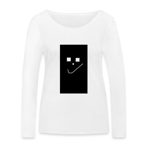 Smile :) - Frauen Bio-Langarmshirt von Stanley & Stella