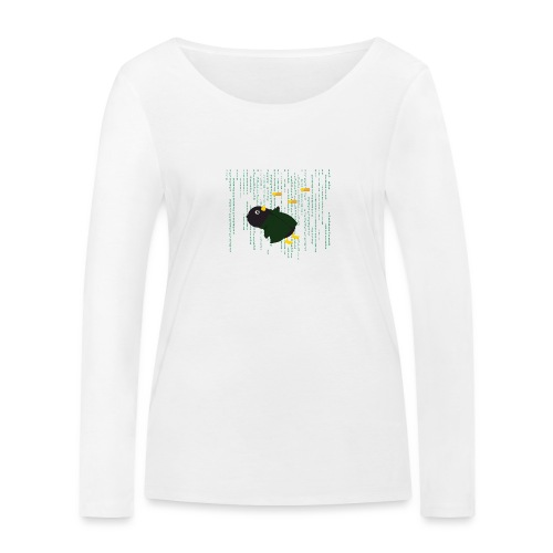 Pingouin Bullet Time - T-shirt manches longues bio Stanley & Stella Femme