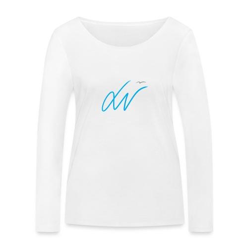 LavoroMeglio - Maglietta a manica lunga ecologica da donna di Stanley & Stella