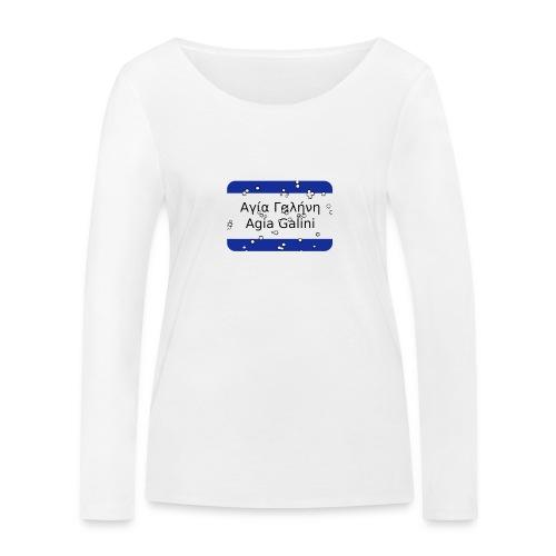 mg agia galini - Frauen Bio-Langarmshirt von Stanley & Stella
