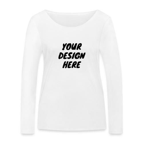 printfile front 9 - Ekologisk långärmad T-shirt dam från Stanley & Stella