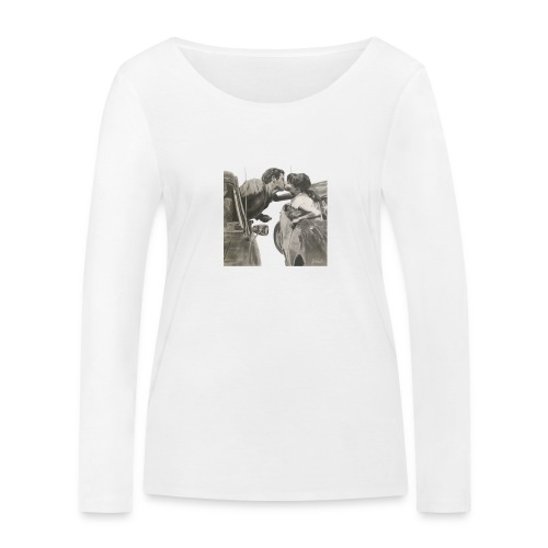 Travel - Camiseta de manga larga ecológica mujer de Stanley & Stella