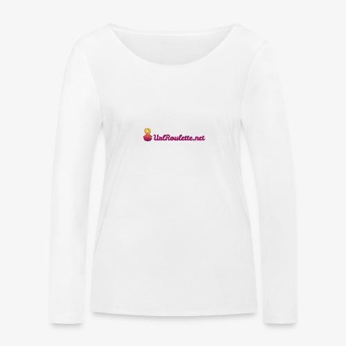 UrlRoulette Logo - Women's Organic Longsleeve Shirt by Stanley & Stella
