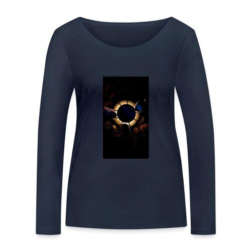 Find Light in the Dark - Women's Organic Longsleeve Shirt by Stanley & Stella