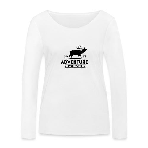 ADVENTURE FOR EVER - CERVO - Maglietta a manica lunga ecologica da donna di Stanley & Stella
