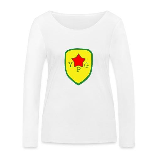 Unisex Red YPG Support Hoodie - Stanley & Stellan naisten pitkähihainen luomupaita