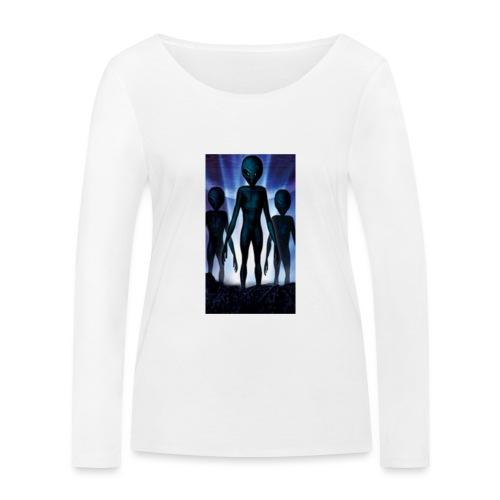 Alien 👽 - Frauen Bio-Langarmshirt von Stanley & Stella