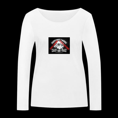 elsace-supermot - T-shirt manches longues bio Stanley & Stella Femme