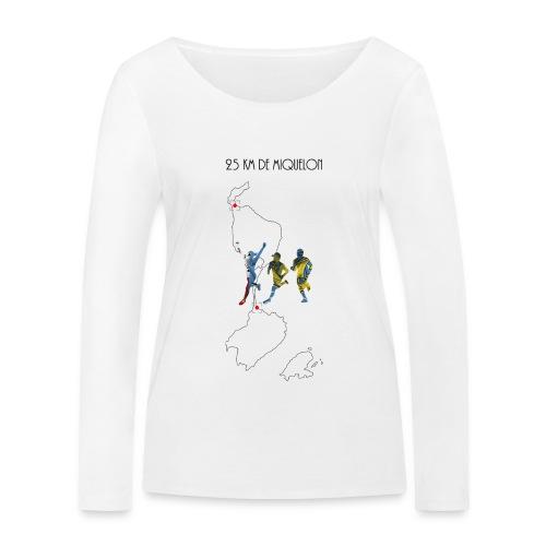 25 km de Miquelon - T-shirt manches longues bio Stanley & Stella Femme