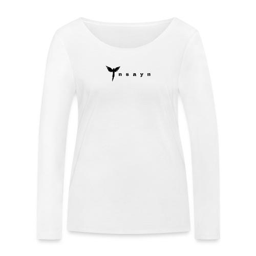 I n s a y n - Noir - T-shirt manches longues bio Stanley & Stella Femme