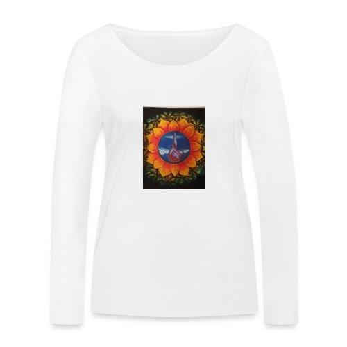 Children of the sun - Økologisk langermet T-skjorte for kvinner fra Stanley & Stella