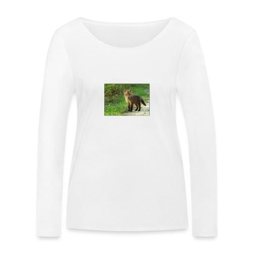 vossen shirt kind - Vrouwen bio shirt met lange mouwen van Stanley & Stella
