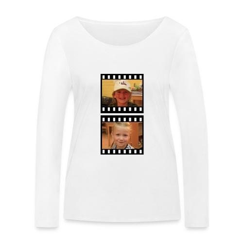 lente tess png - Vrouwen bio shirt met lange mouwen van Stanley & Stella