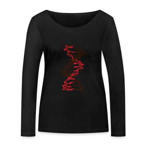 DNA-Molekül - Frauen Bio-Langarmshirt von Stanley & Stella