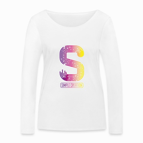 Simple creation - Women's Organic Longsleeve Shirt by Stanley & Stella