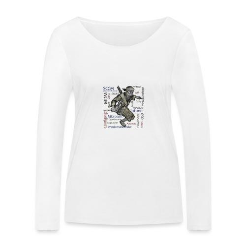 WPNinja Big Flash - Frauen Bio-Langarmshirt von Stanley & Stella