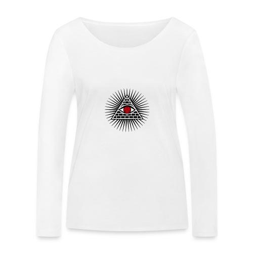 EYES - Ekologiczna koszulka damska z długim rękawem Stanley & Stella