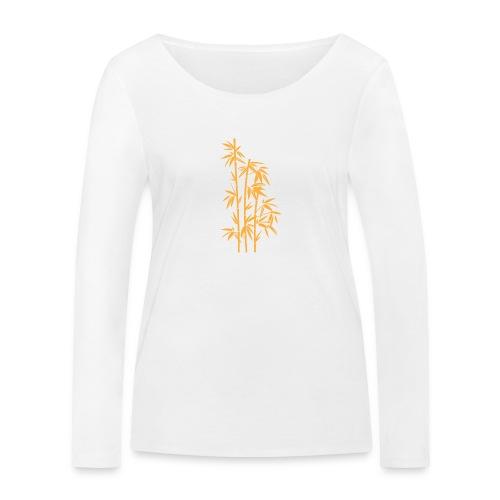 Giallo Dafne 01 - Maglietta a manica lunga ecologica da donna di Stanley & Stella