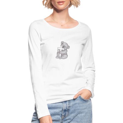 Loggis - Ekologisk långärmad T-shirt dam från Stanley & Stella