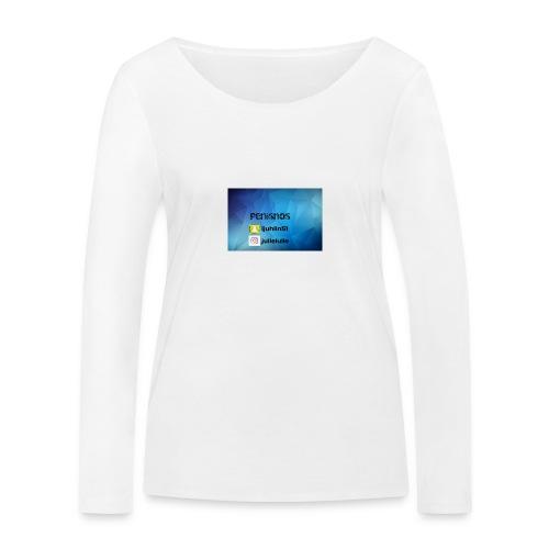 Penisnos merch med snap och ig - Ekologisk långärmad T-shirt dam från Stanley & Stella