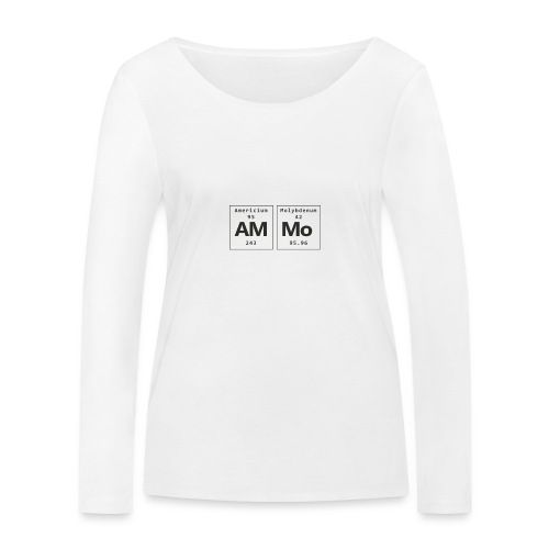 Ammo - Økologisk Stanley & Stella langærmet T-shirt til damer