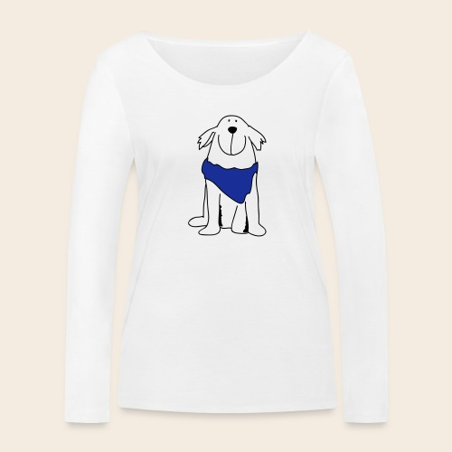 Retriever mignon - T-shirt manches longues bio Stanley & Stella Femme