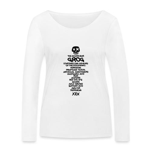 ingredientes grog ingles - Camiseta de manga larga ecológica mujer de Stanley & Stella