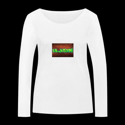 Lil Justin - Women's Organic Longsleeve Shirt by Stanley & Stella