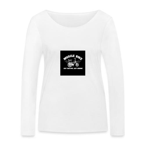 badge013 - T-shirt manches longues bio Stanley & Stella Femme