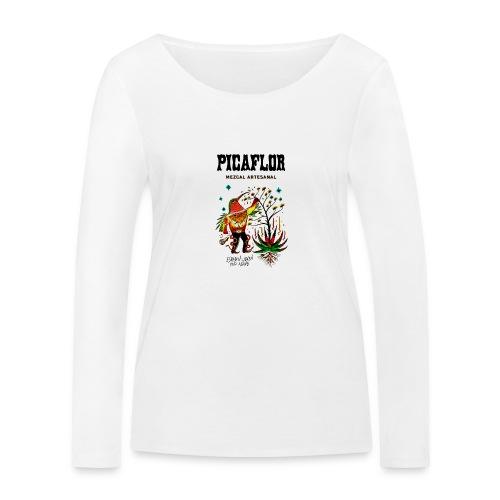 Picaflor Mezcal Original - Økologisk langermet T-skjorte for kvinner fra Stanley & Stella