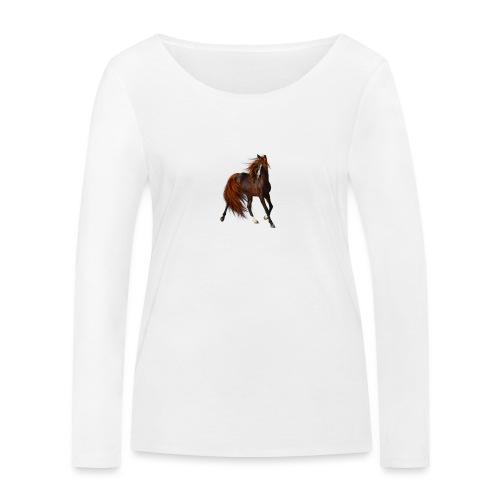 Horse Elite Edition - Women's Organic Longsleeve Shirt by Stanley & Stella
