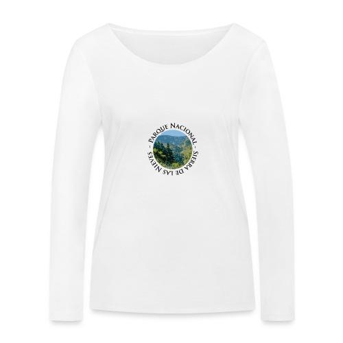 Parque Nacional Sierra de las Nieves - Camiseta de manga larga ecológica mujer de Stanley & Stella