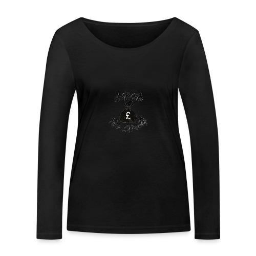 Motivate The Streets - Women's Organic Longsleeve Shirt by Stanley & Stella