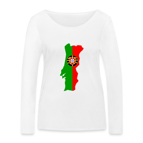 Portugal - Vrouwen bio shirt met lange mouwen van Stanley & Stella