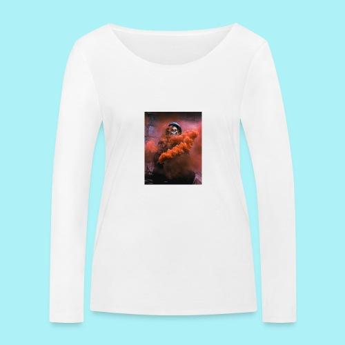 Squelette brumeux - T-shirt manches longues bio Stanley & Stella Femme
