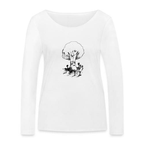Sage Tree - Women's Organic Longsleeve Shirt by Stanley & Stella