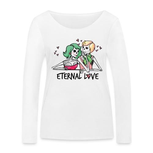 Endlose Liebe - Frauen Bio-Langarmshirt von Stanley & Stella