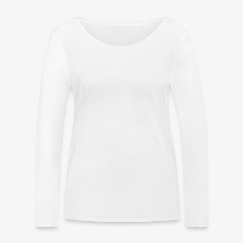 Quermast V2 Weiß - Frauen Bio-Langarmshirt von Stanley & Stella