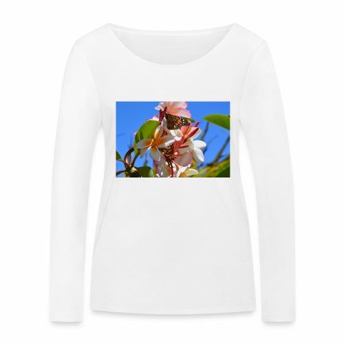 Schmetterling - Frauen Bio-Langarmshirt von Stanley & Stella