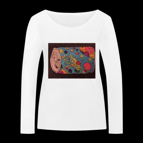 7AABC614 53CA 4156 B765 D9FBF5B8E496 - Økologisk Stanley & Stella langærmet T-shirt til damer