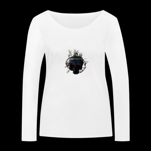 Tête de mort île - T-shirt manches longues bio Stanley & Stella Femme
