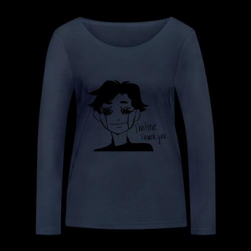 Feeling Vulnerable - Vrouwen bio shirt met lange mouwen van Stanley & Stella