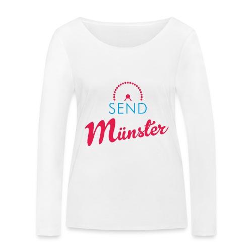Send Münster - Frauen Bio-Langarmshirt von Stanley & Stella