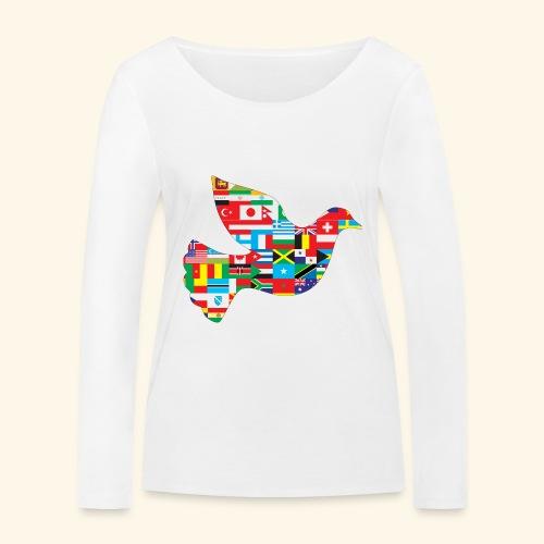countrys t-shirt - Camiseta de manga larga ecológica mujer de Stanley & Stella