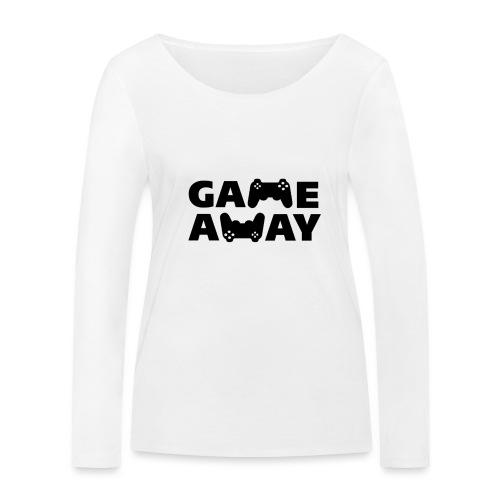 game away - Vrouwen bio shirt met lange mouwen van Stanley & Stella
