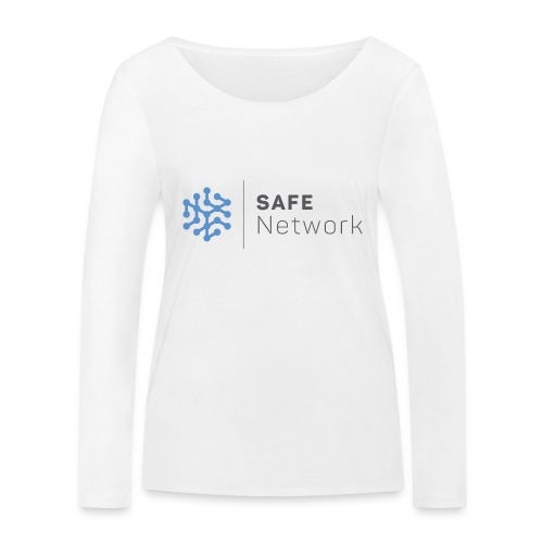 safenetwork logo - Women's Organic Longsleeve Shirt by Stanley & Stella