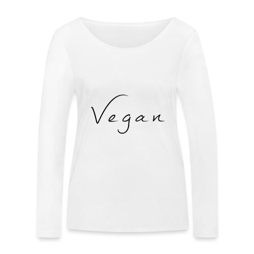 Vegan - Vrouwen bio shirt met lange mouwen van Stanley & Stella