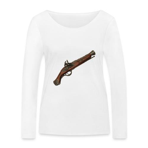 Pistola - Camiseta de manga larga ecológica mujer de Stanley & Stella