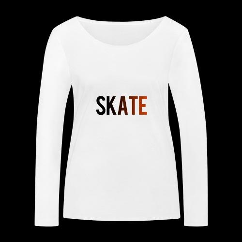 SKATE - Vrouwen bio shirt met lange mouwen van Stanley & Stella