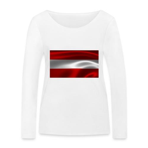Austria I Love Austria - Frauen Bio-Langarmshirt von Stanley & Stella